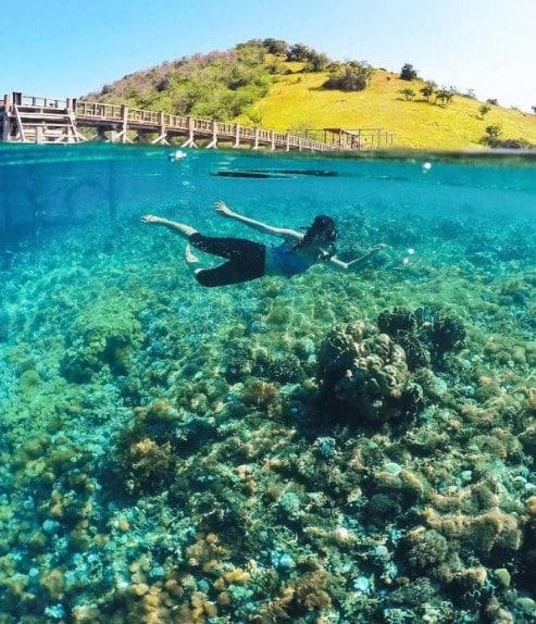 Aktivitas Seru di Pulau Sabolon Labuan Bajo
