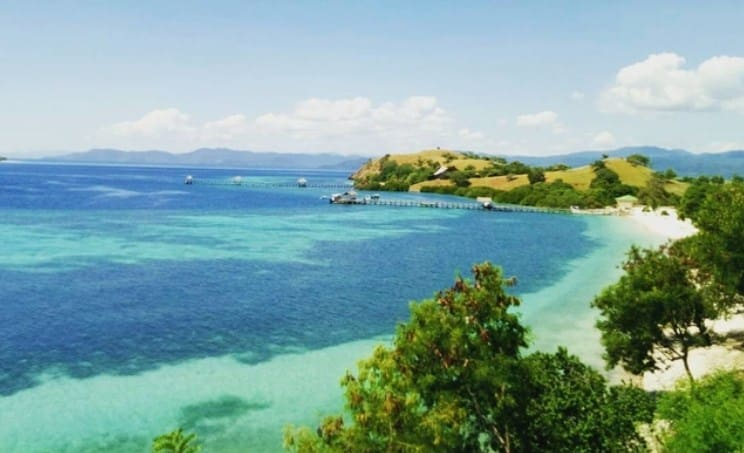 Elok nan Eksotis Sebutan Untuk Pulau Seraya Kecil