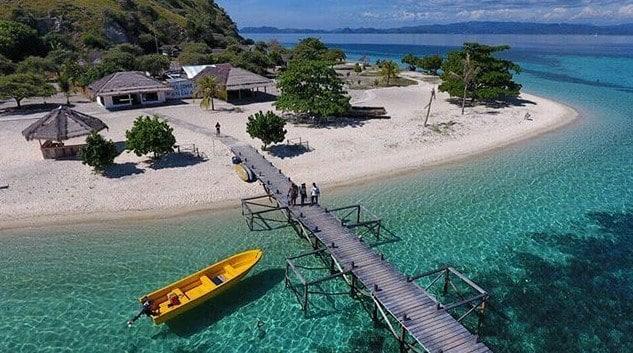 Pulau Kanawa Labuan Bajo, Kampung Halaman Patrick Sahabat Spongebob