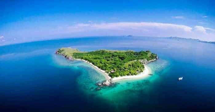 gambar pulau bidadari labuan bajo