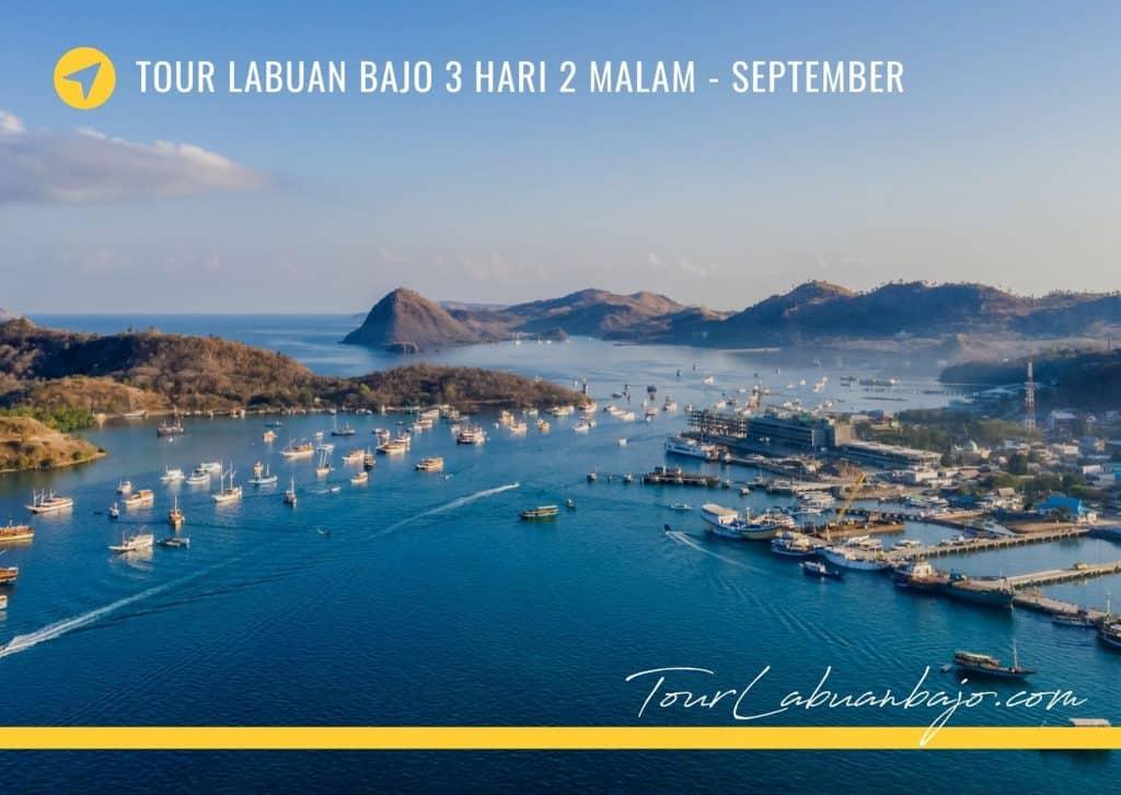 Paket Wisata Tour Labuan Bajo 3 Hari 2 Malam September
