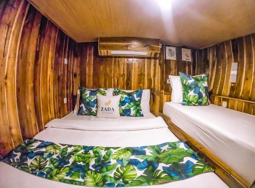 Cabin Kapal Zada Liveaboard Labuan Bajo