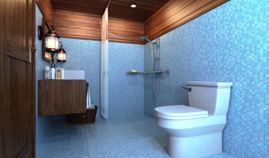 Fasilitas Toilet dari Gammara Phinisi