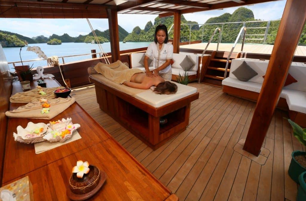 Liveaboard Spa, Refreshing and Relaxing dengan Ocean Vibe