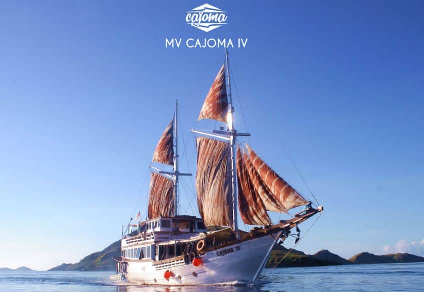 Sewa Kapal Cajoma IV Phinisi Labuan Bajo, Liveaboard Epik With Tradisional Phinisi