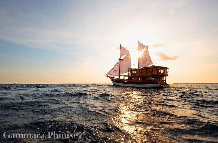 Sewa Kapal Gammara Phinisi Liveaboard Labuan Bajo Komodo, Touring dengan Pengalaman Autentik