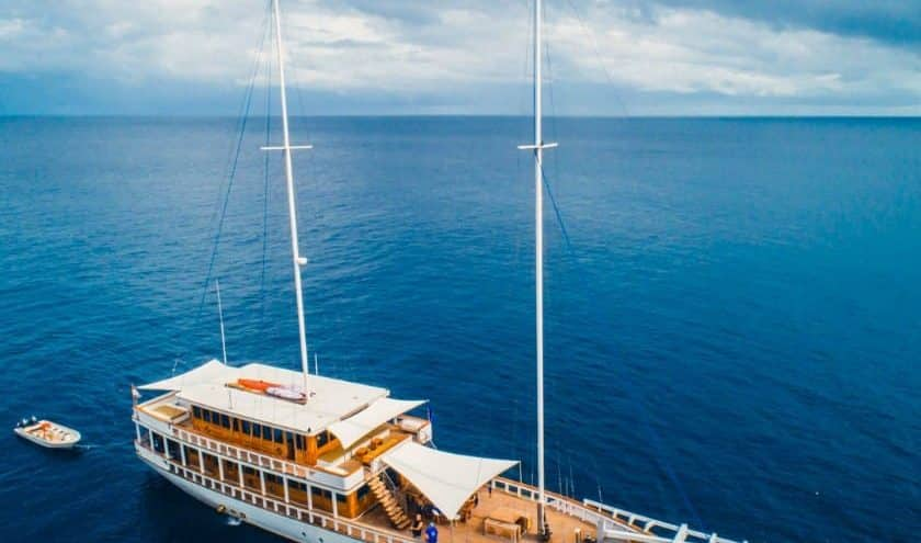 Sewa Kapal Fenides Liveaboard Labuan Bajo, Luxury Diving With Contemporary Classic Style