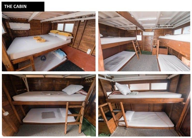 The Cabin Kapal Diantara Liveboard Komodo Labuan Bajo